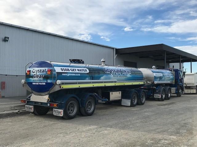 Water tanker & trailer