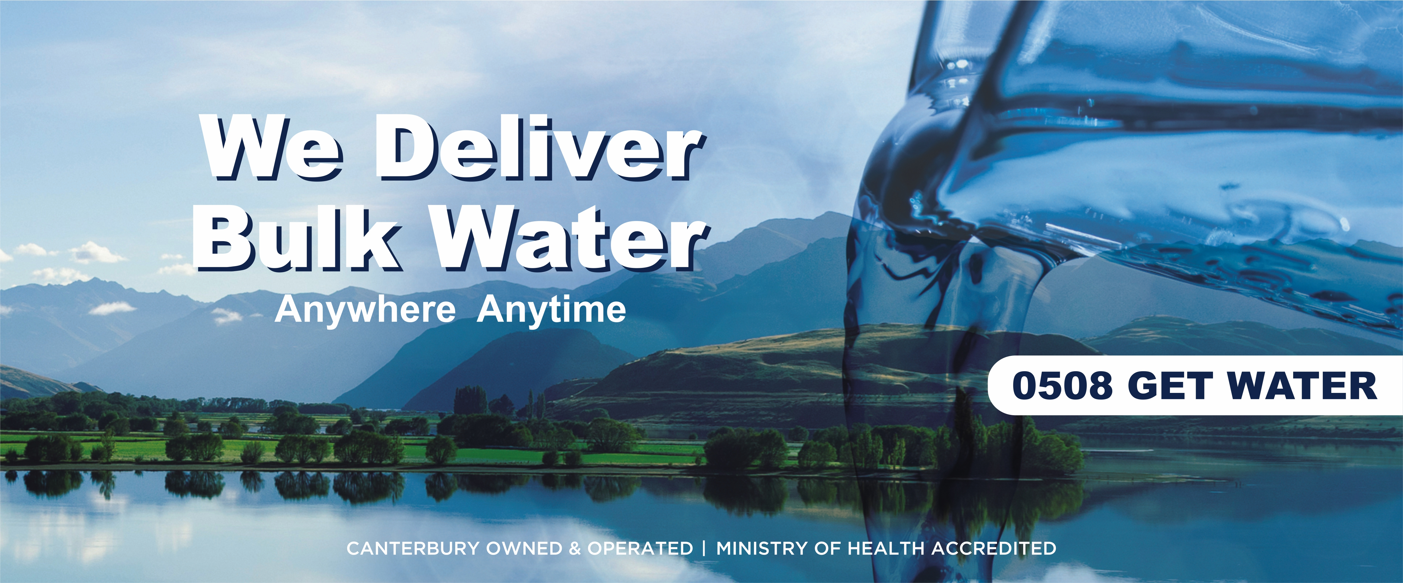Bulk water delivery home page